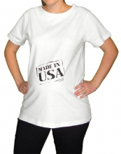 Made In USA Maternity T-Shirt