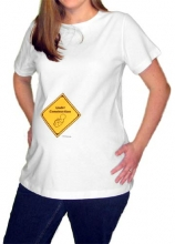 Under Construction Maternity T-Shirt
